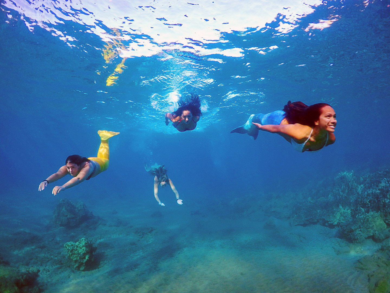 Four Mermaids Hawaii