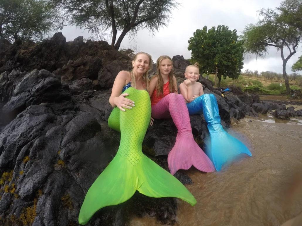 Catalina Sea Green Mermaid Tail