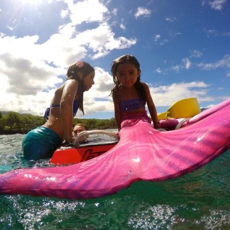 pink mermaid board