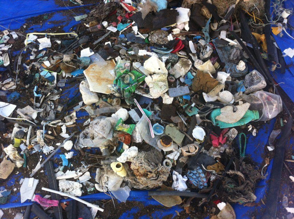 plastic marine debris hawaii