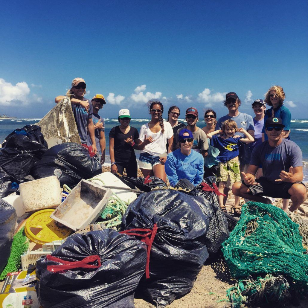 HWF Clean Up 2015 Trashand Group Shot