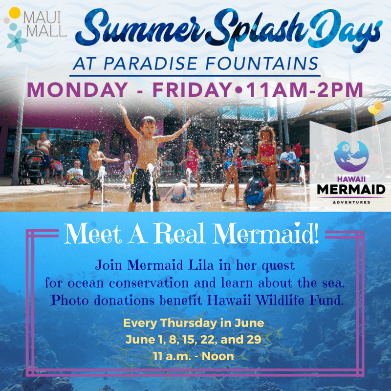Hawaii Mermaid Adventures at Maui Mall